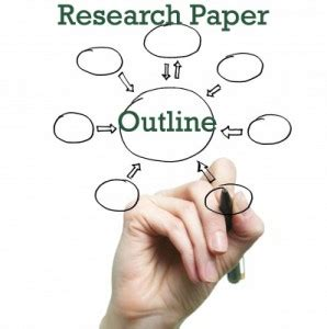 Developing outlines for research papers